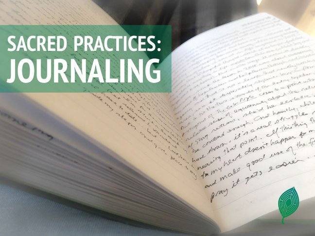 Feature image for Journaling - an open journal bathed in light